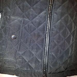 Liz Claiborne Jackets & Coats - Liz Claiborne Black Quilted Hooded Jacket